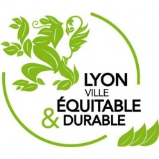 Logo Ville de Lyon Equitable et durable