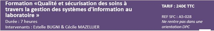 formation informatique labo