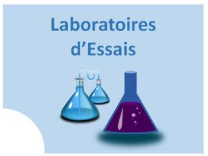 Cliquer ici pour accéder à la page Laboratoire d'essais